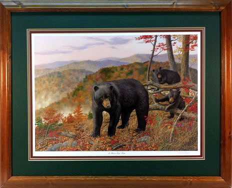 """Bearly Moving"" by wildlife artist Randy McGovern!"