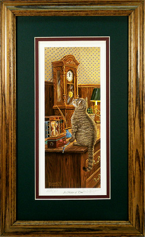 """A Matter of Time"" by wildlife artist Randy McGovern"