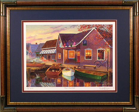 """Dawn's Early Light"" - Nautical Prints by wildlife artist Randy McGovern"