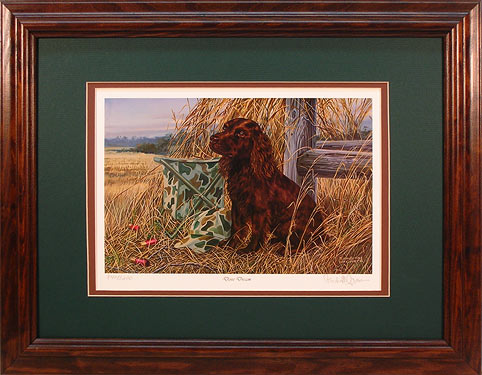 """Dove Dream"" - Boykin Spaniel by artist Randy McGovern"