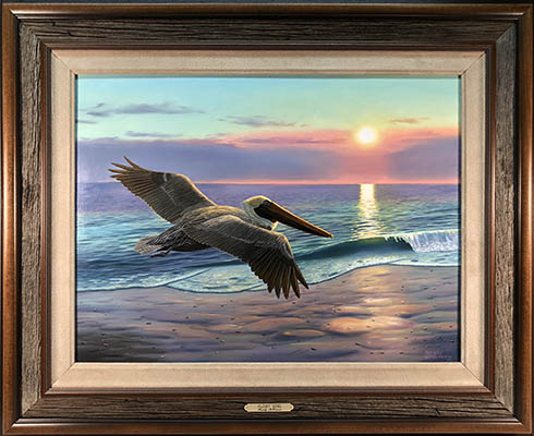 """Flight Song"" by wildlife artist Randy McGovern"