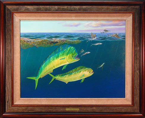 """Food Chain"" by wildlife artist Randy McGovern"