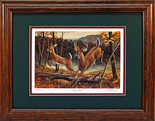 """Higher Ground"" by wildlife artist Randy McGovern"