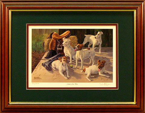 """Make Our Day"" - Jack Russell Terrier print by wildlife artist Randy McGovern"