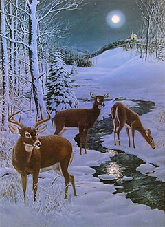 """Peace On Earth"" by wildlife artist Randy McGovern"