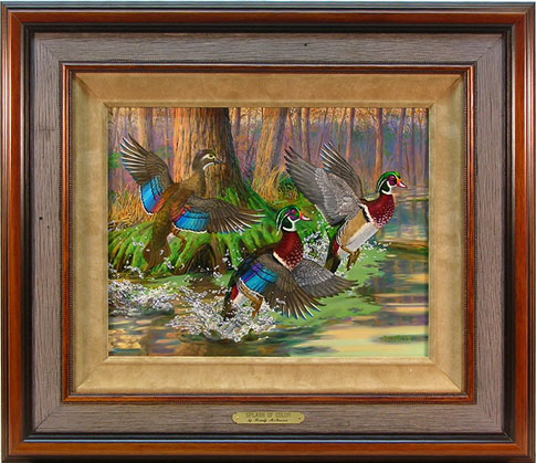 """Splash of Color"" by wildlife artist Randy McGovern"