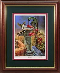 """Sugar Spout"" Hummingbirds by artist Randy McGovern"