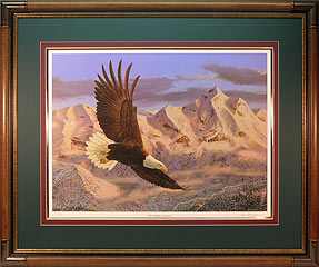 """The Height of Freedom"" - Bald Eagle by artist Randy McGovern"