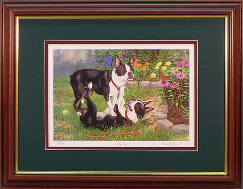 """Time Out"" - Dog Print by wildlife artist Randy McGovern"