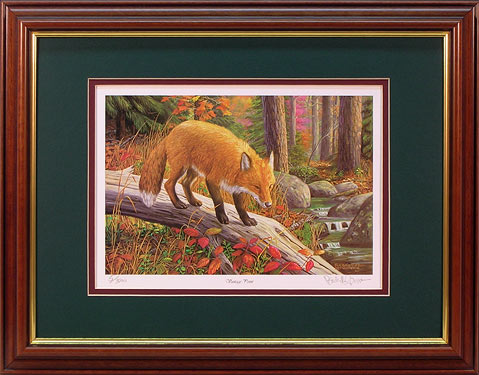 """Vantage Point"" - Wildlife Prints by wildlife artist Randy McGovern"